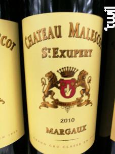 Château Malescot St-Exupéry - Château Malescot St-Exupéry - 2018 - Rouge