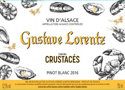 L'ami des crustacés - Gustave Lorentz - 2017 - Blanc