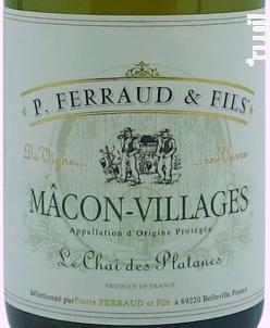 Le Chai des Platanes - P. Ferraud & Fils - 2018 - Blanc
