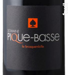 LA BRUSQUEMBILLE - DOMAINE PIQUE-BASSE - 2016 - Rouge