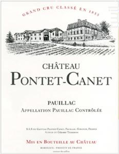 Château Pontet-Canet - Château Pontet-Canet - 2005 - Rouge