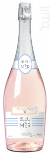 Bleu de mer Bulles Rosé - Bernard Magrez - Non millésimé - Effervescent