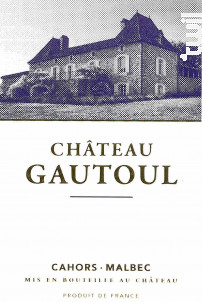 Chateau Gautoul - Château Le Gautoul - 2016 - Rouge