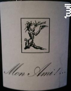 Mon Ami ! ... - Domaine Gilles Berlioz - 2014 - Blanc