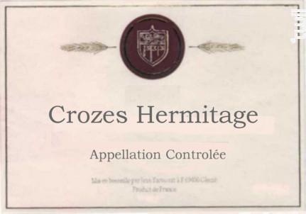 Crozes Hermitage - Baronnat Jean - 2016 - Rouge