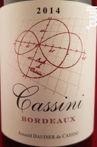 Château Cassini - Château Cassini - 2014 - Rouge