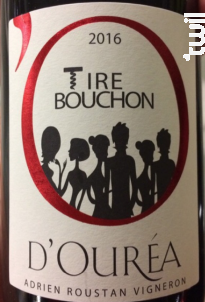Tire Bouchon - Domaine D'Ouréa - 2016 - Rouge