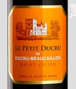 Le Petit Ducru de Ducru Beaucaillou - Château Ducru-Beaucaillou - 2018 - Rouge