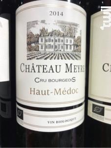 Château Meyre Cru Bourgeois - Château Meyre - 2014 - Rouge