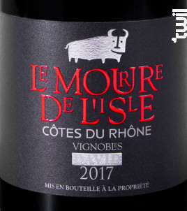 Le Mourre de L'isle - Vignobles David - 2017 - Rouge