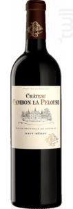 Château Cambon La Pelouse - Château Cambon la Pelouse - 2015 - Rouge