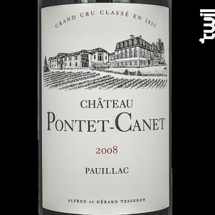 Château Pontet-Canet - Château Pontet-Canet - 2008 - Rouge