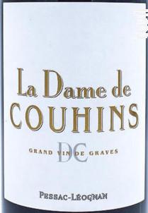 La Dame de Couhins - Château Couhins - 2014 - Rouge