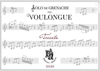 Cuvée de Voulongue Réserve - Domaine du Bois de Saint Jean - 2020 - Rouge