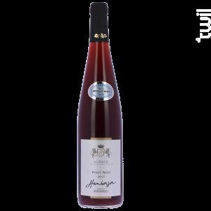 Pinot noir 2017 Médaille d'argent Colmar concours 2018 - Cave de Beblenheim - 2017 - Rouge