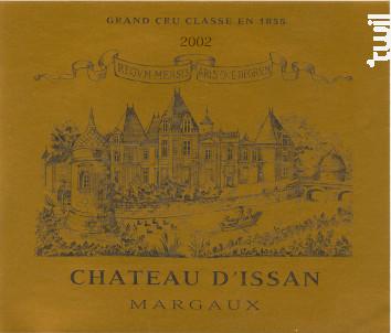 Château d'Issan - Château d'Issan - 2002 - Rouge