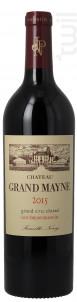 Château Grand Mayne - Château Grand Mayne - 2015 - Rouge