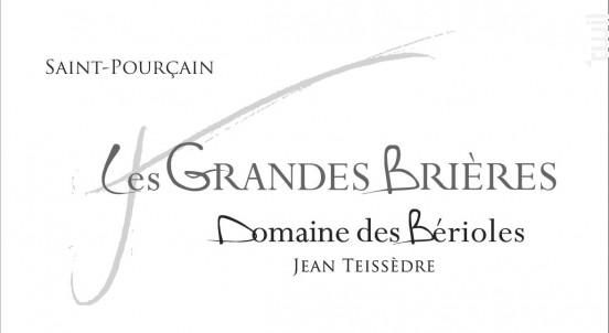 Les Grandes Brières - Domaine Des Bérioles - 2015 - Rouge