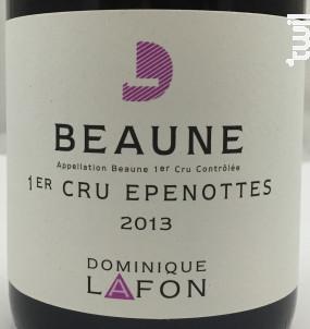 Beaune Premier Cru Épenottes - Dominique Lafon - 2015 - Rouge