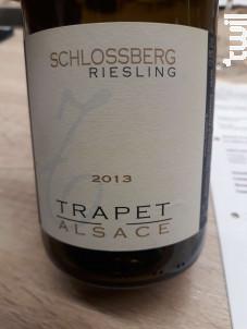 Schlossberg Grand Cru Riesling - Domaine Trapet Alsace - 2014 - Blanc