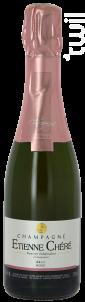 Brut Rosé - Champagne Etienne Chéré - Non millésimé - Effervescent
