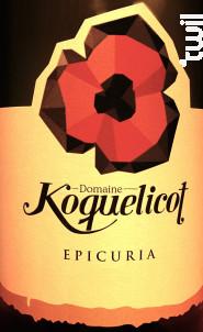 Epicuria - Domaine Koquelicot - 2013 - Blanc