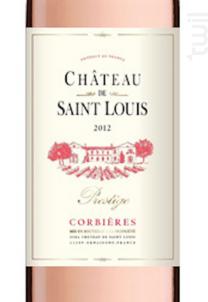 Château de Saint Louis AOP Corbières « Prestige » - Château de Saint Louis (SCEA) - 2017 - Rosé