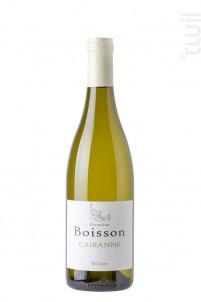 Silice - Domaine Boisson - 2018 - Blanc