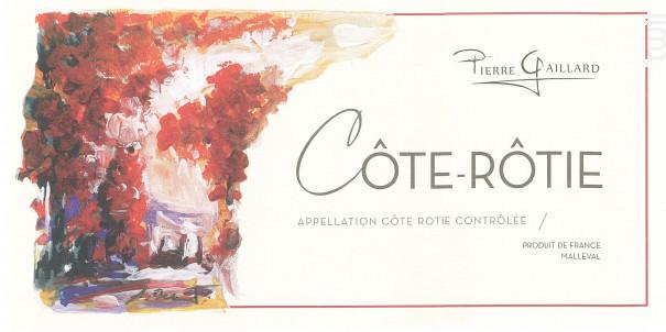 Côte Rôtie - Pierre Gaillard - 2015 - Rouge