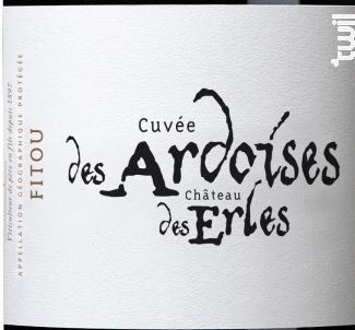 Cuvée des Ardoises du Château des Erles - François Lurton - Château des Erles - 2016 - Rouge