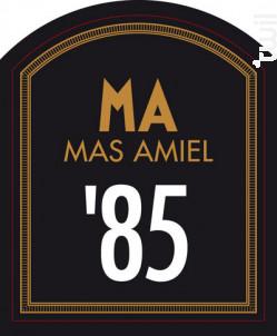 MILLÉSIME 85′ - Mas Amiel - 1985 - Rouge