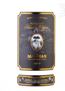 Madiran - Marquis Aimé de Colignac - 2015 - Rouge