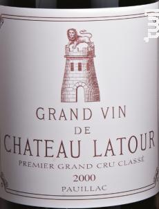 Château Latour - Château Latour - 2000 - Rouge