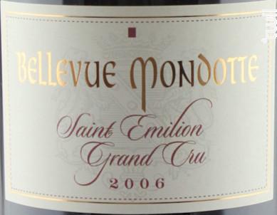 Château Bellevue Mondotte - Château Bellevue Mondotte - 2012 - Rouge