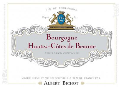 Bourgogne Hautes-Côtes de Beaune - Albert Bichot - 2019 - Rouge