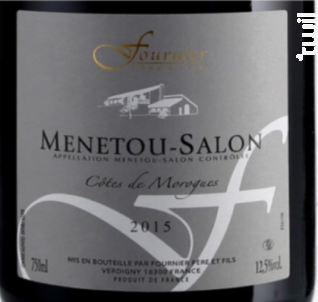 Menetou-Salon Côtes de Morogues - FOURNIER Père & Fils - 2016 - Rouge