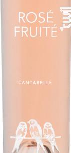 Rosé Fruité - Domaine de Cantarelle - 2017 - Rosé
