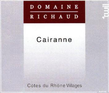 Cairanne - Domaine Richaud - 2017 - Rouge