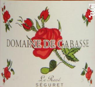 Le Rosé - Domaine de Cabasse - 2017 - Rosé