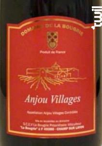 Anjou Villages - Domaine de la Bougrie - 2013 - Rouge