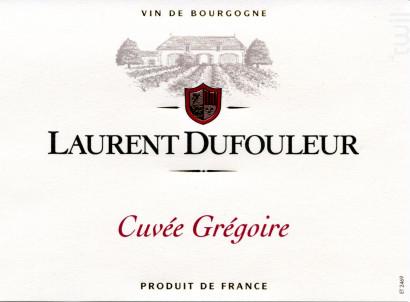 Laurent Dufouleur - Cuvée Grégoire - Maison L. Tramier et Fils - 2018 - Rouge