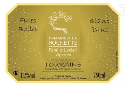 Méthode Traditionnel - Domaine de la Rochette - Non millésimé - Effervescent