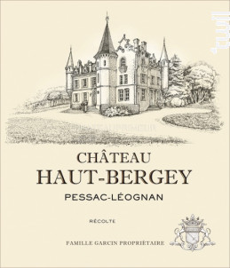 Château Haut-Bergey - Château Haut-Bergey - 2016 - Rouge