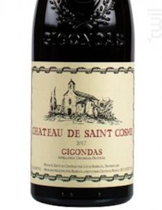 Château de Saint Cosme - Gigondas - Château de Saint Cosme - 2017 - Rouge
