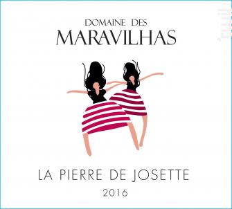 LA PIERRE DE JOSETTE - Domaine des Maravilhas - 2016 - Rouge