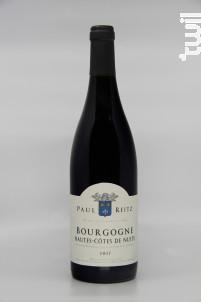 Bourgogne Hautes Côtes de Nuits - Maison Paul Reitz - 2017 - Rouge