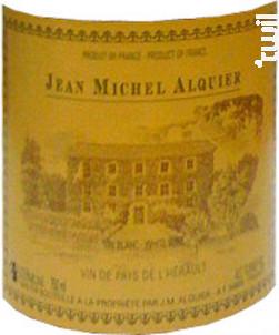 VIN DE PAYS DE L'HERAULT - Domaine Jean-Michel Alquier - 2003 - Blanc