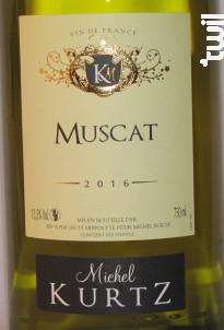Muscat - Michel Kurtz - 2018 - Blanc