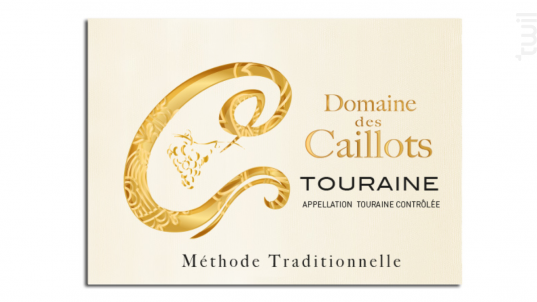 Méthode Traditionnelle  Brut - Domaine des Caillots - Non millésimé - Blanc