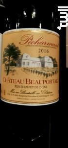 Château Beauportail - Chateau Beauportail - 2016 - Rouge
